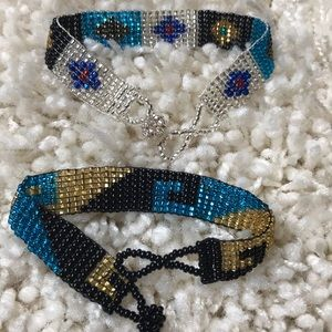Jewelry - Pair of Southwest Beaded Bracelets